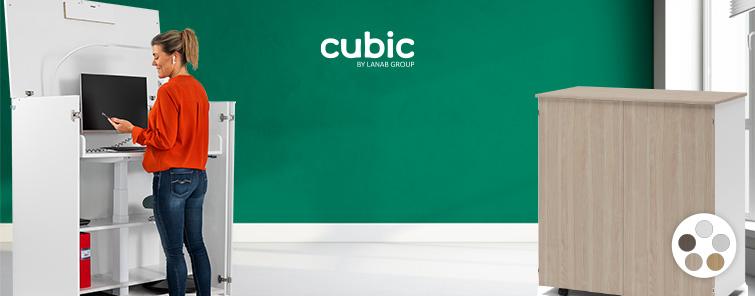 Cubic er en komplet ergonomisk arbejdsplads