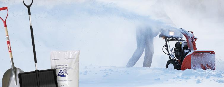 Sneredskaber & Vinterprodukter