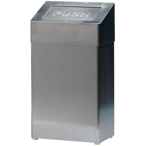 Splinternye Affaldsspand med vippelåg JB-71