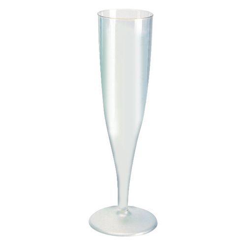 Champagneglas plast