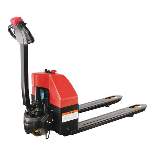 Ergonomisk elektrisk palletruck - kapacitet 1500 kg