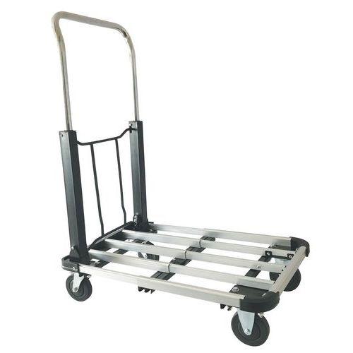 Sammenklappelig vogn i aluminium - kapacitet 150 kg
