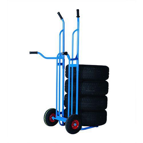 Dækvogn blå