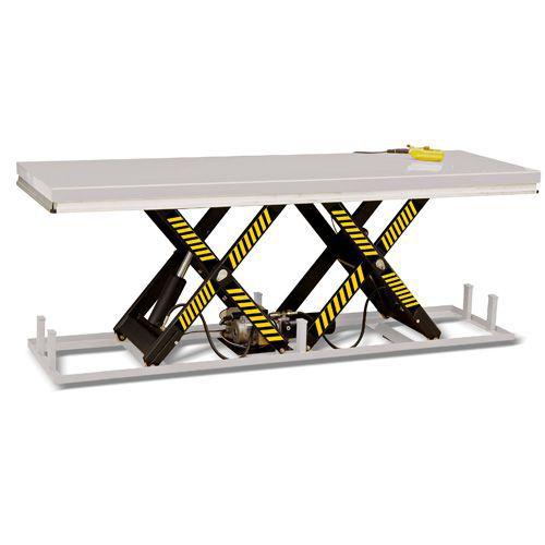 Løftebord med vandret dobbeltsaks