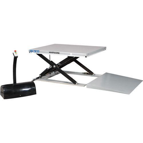 Løftebord lavprofil med rampe