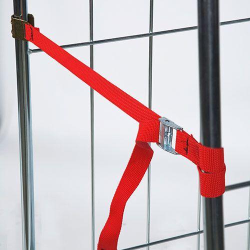 Sikkerhedsbånd til Rulle- o Sikkerhedsconteiner