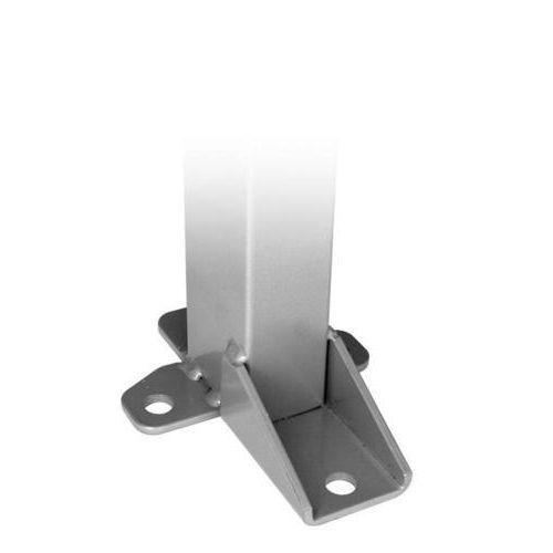 Stolpe inkl. stolpefod / Hjørnebeslag til montering af hjørner