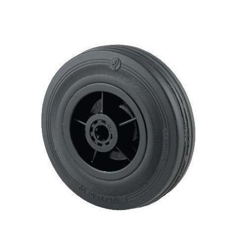 Luftgummihjul med plastfælg