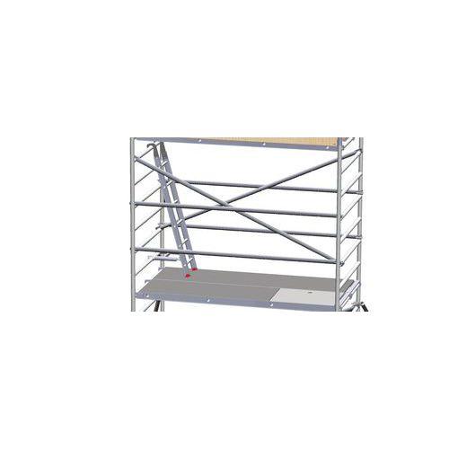 Rullestillads Pro påbygningssektion